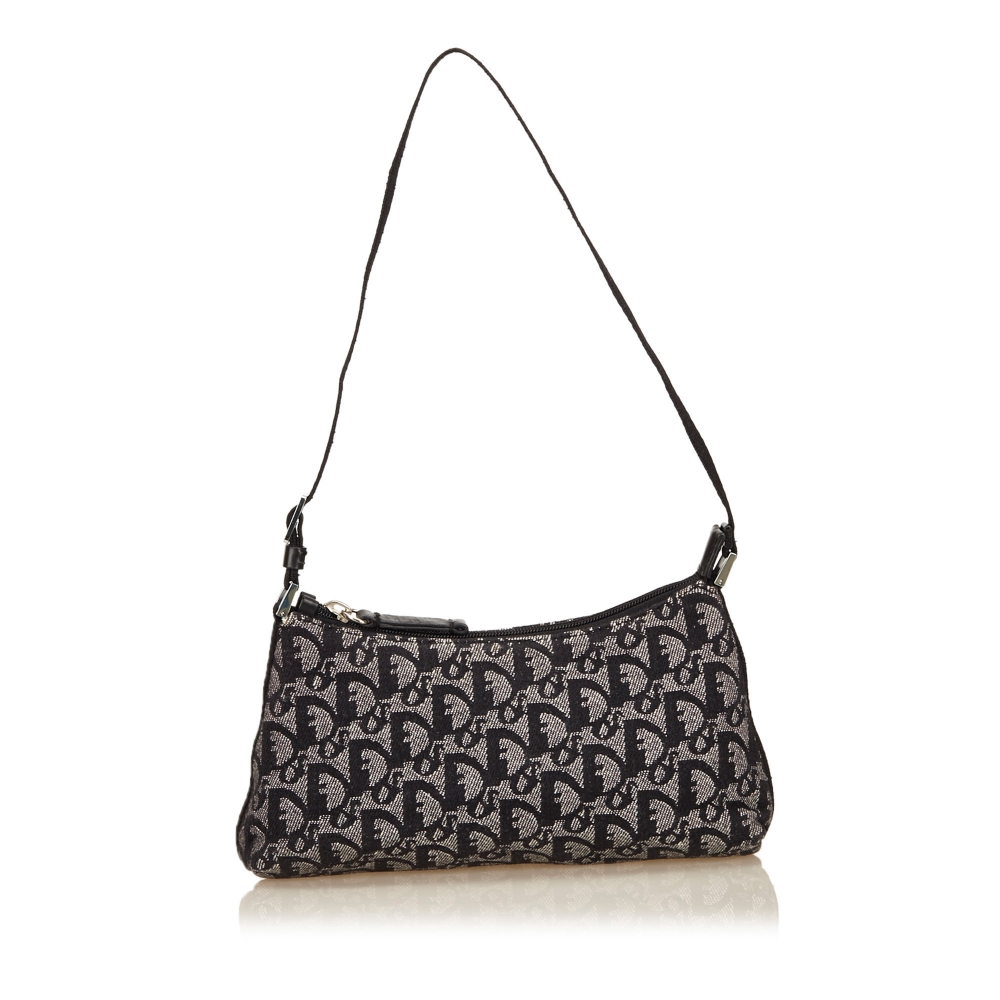 Christian Dior - Jacquard Diorissimo Handbag   MyPrivateDressing ... 1fa24cdee4299