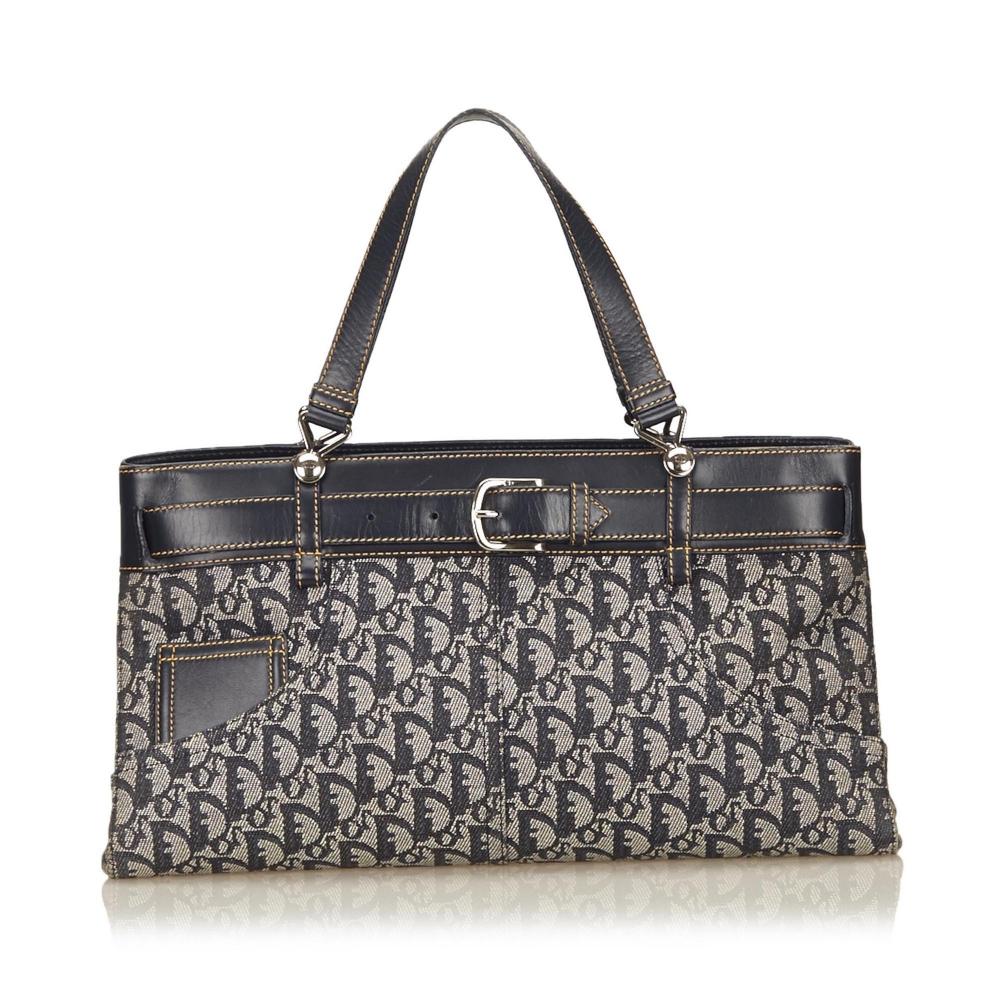 Christian Dior - Jacquart Diorissimo Handbag   MyPrivateDressing ... 059f7518f8d66