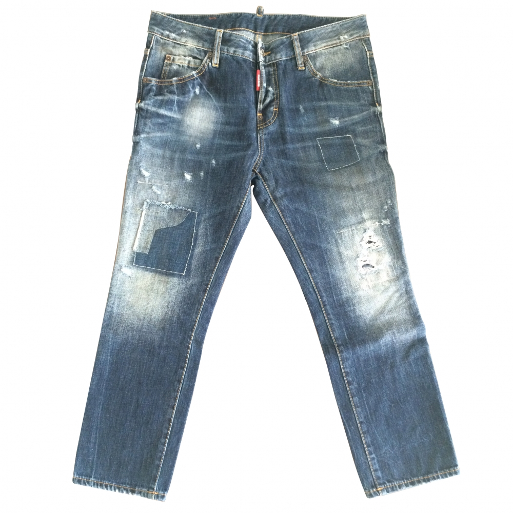Dsquared2 - Cropped Jeans   MyPrivateDressing. Buy and sell vintage ... 7fbb1566f90