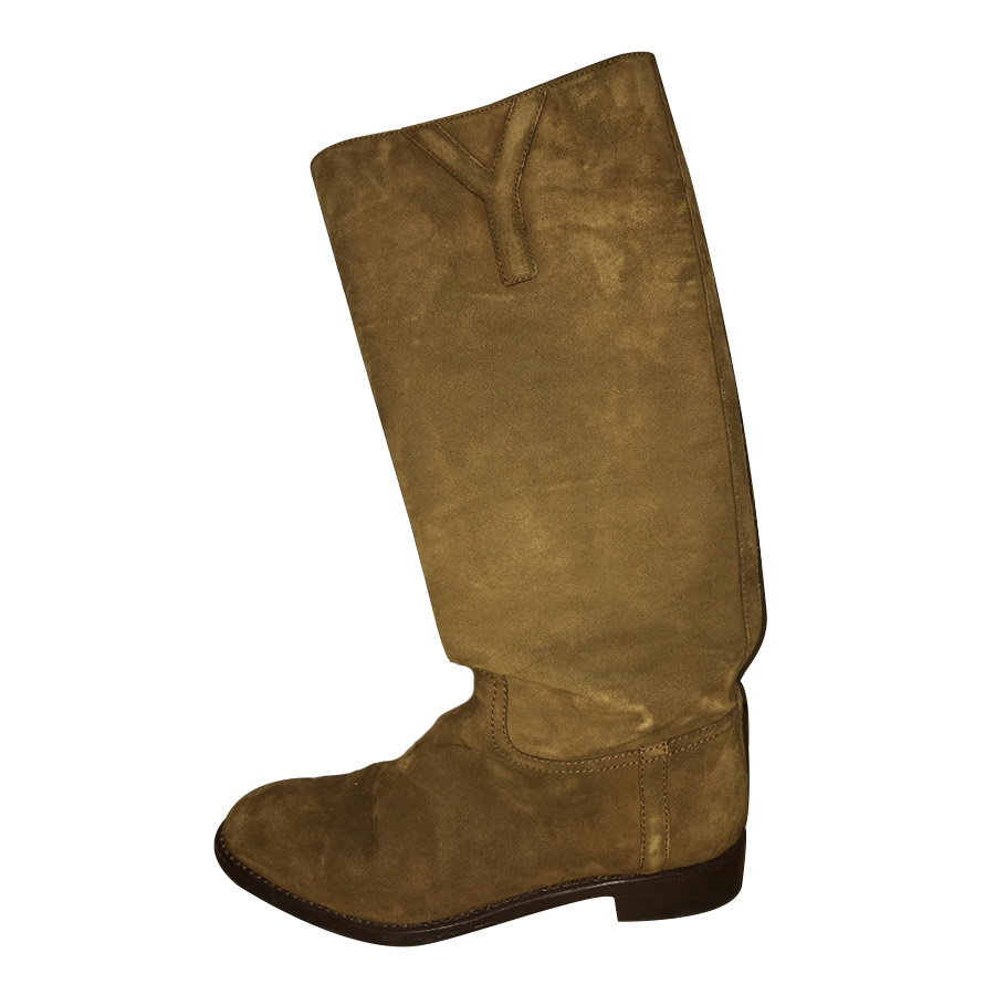 85e4df331f2 Yves Saint Laurent - Boots : MyPrivateDressing. Buy and sell vintage ...
