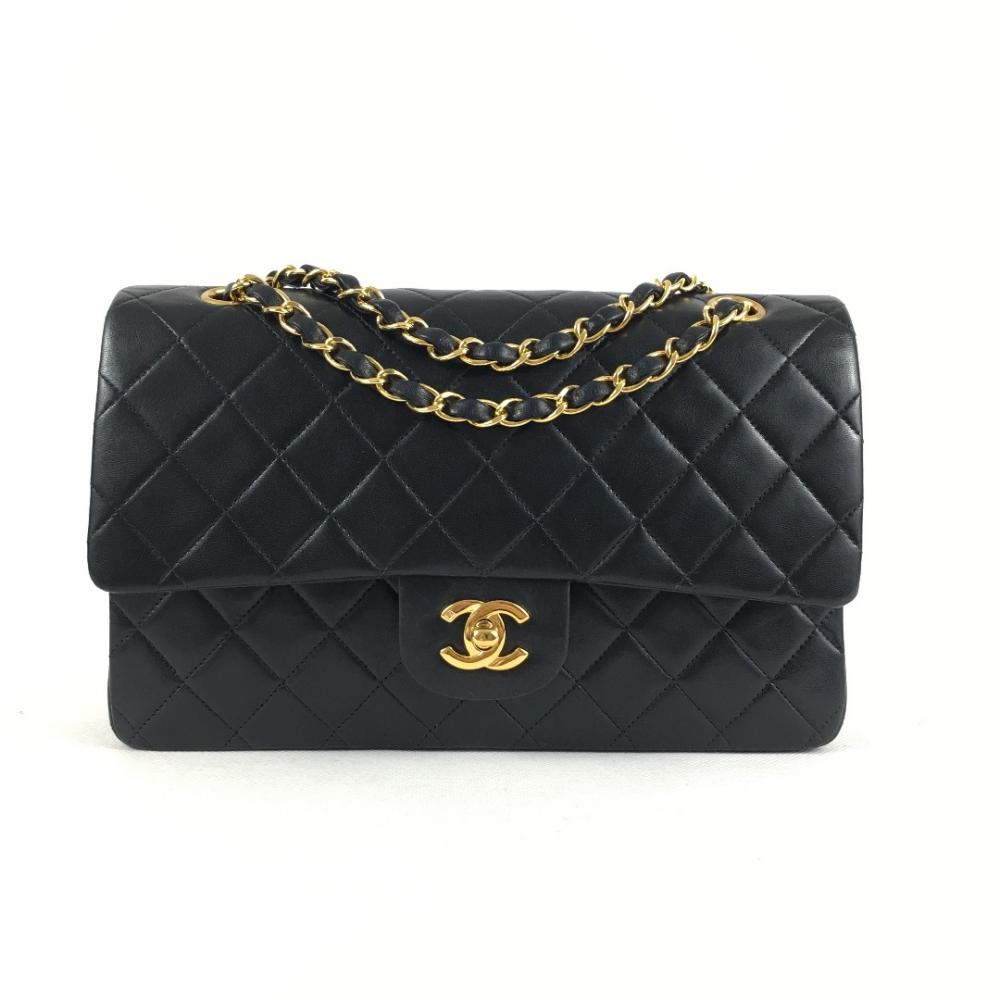 043edbf7139c2 Chanel - Timeless Double Flap Bag Black   MyPrivateDressing. Buy and ...
