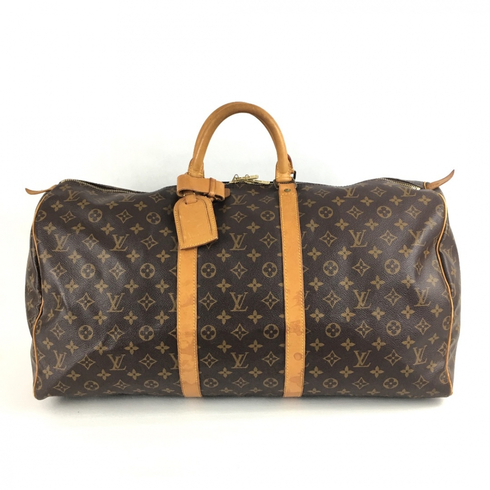 louis vuitton keepall 55 monogram reisetasche myprivatedressing schweiz kaufen und. Black Bedroom Furniture Sets. Home Design Ideas
