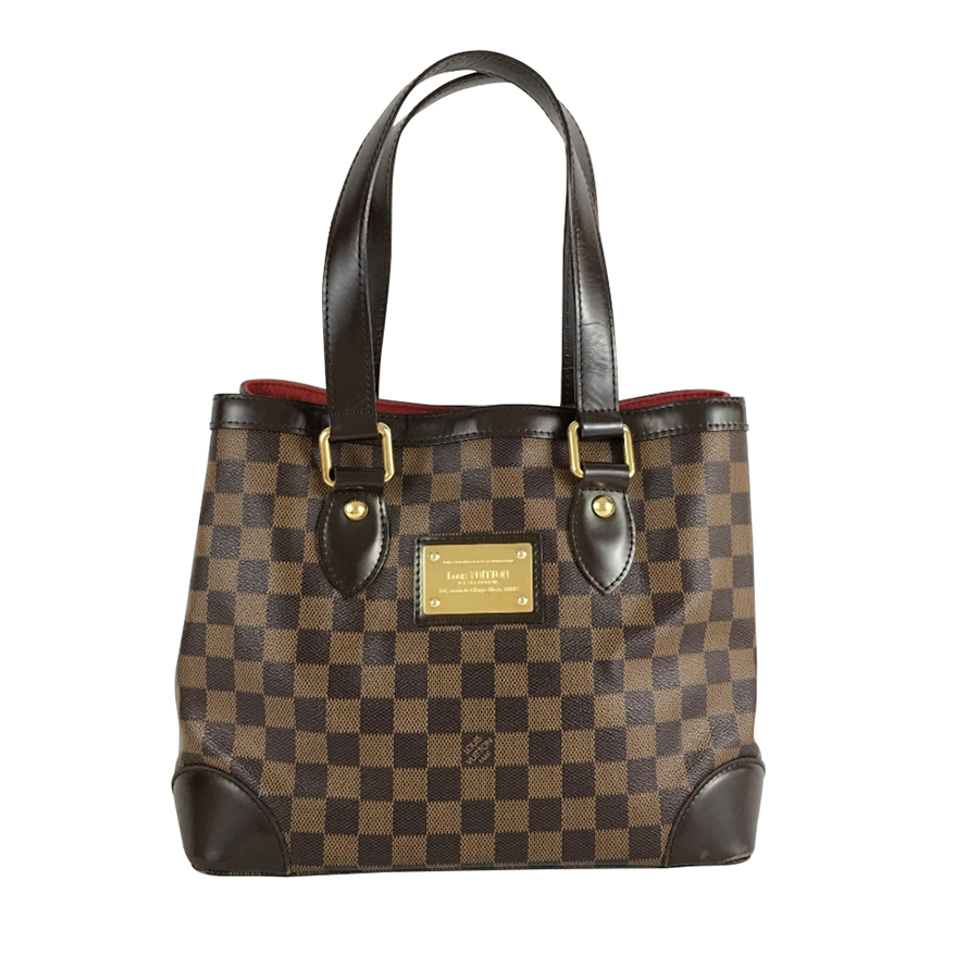 louis vuitton handtasche damier ebene myprivatedressing buy and sell vintage and second. Black Bedroom Furniture Sets. Home Design Ideas