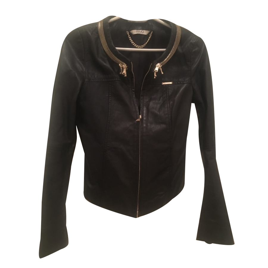 Liu.Jo - Leather Jacket   MyPrivateDressing. Buy and sell vintage ... 9d173635209