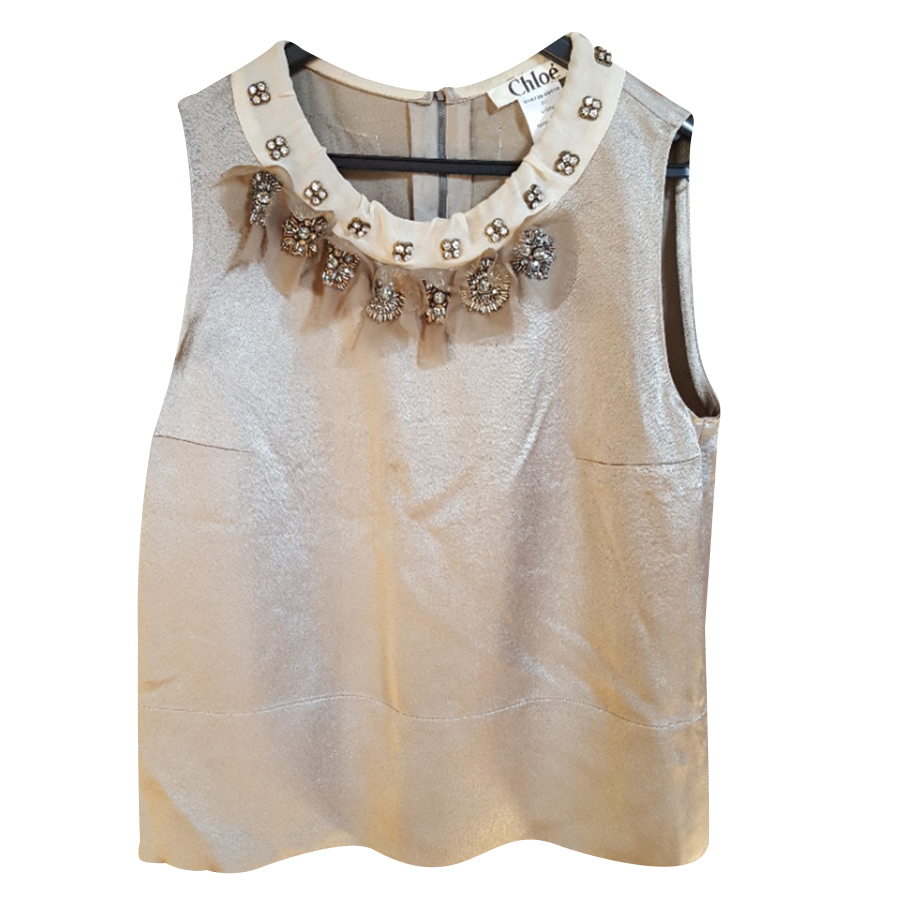 Chloé - Top   MyPrivateDressing vide dressing suisse luxe online ... fb8f4268ae5