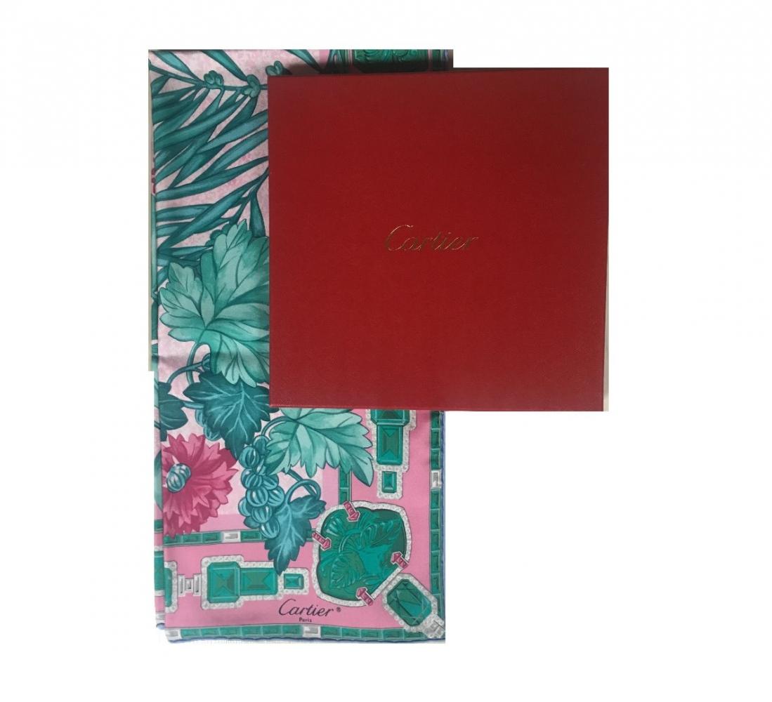 eed7c5005bb7 Cartier - Emeraude Schal   MyPrivateDressing Schweiz. Kaufen und ...