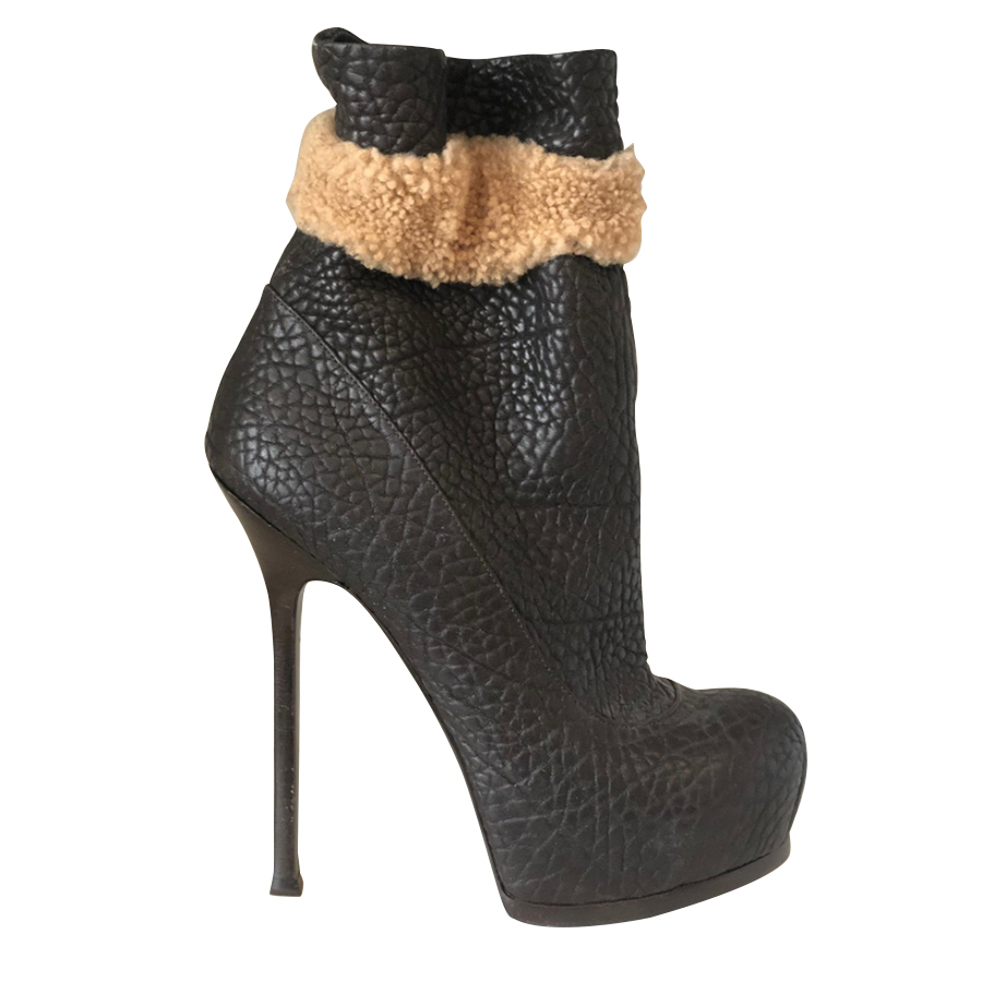 8307b45c4c4 Yves Saint Laurent - Ankle Boots : MyPrivateDressing. Buy and sell ...