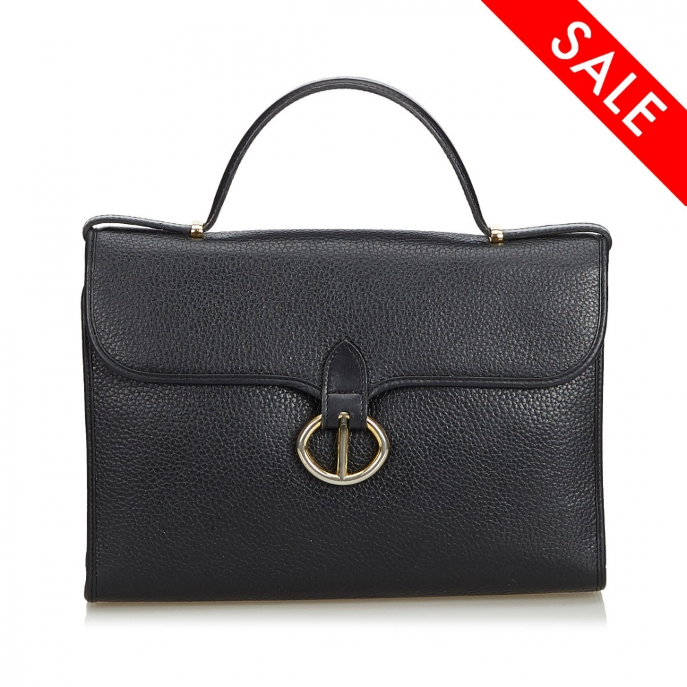 7d1809b92392 Christian Dior - Leather Handbag   MyPrivateDressing. Buy and sell ...