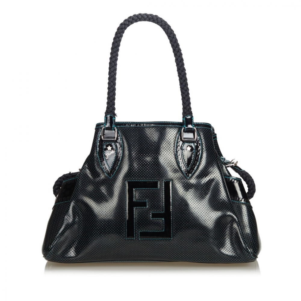 Fendi - Patent Leather Etniko Tote Bag   MyPrivateDressing. Buy and ... f32aa1b1d0