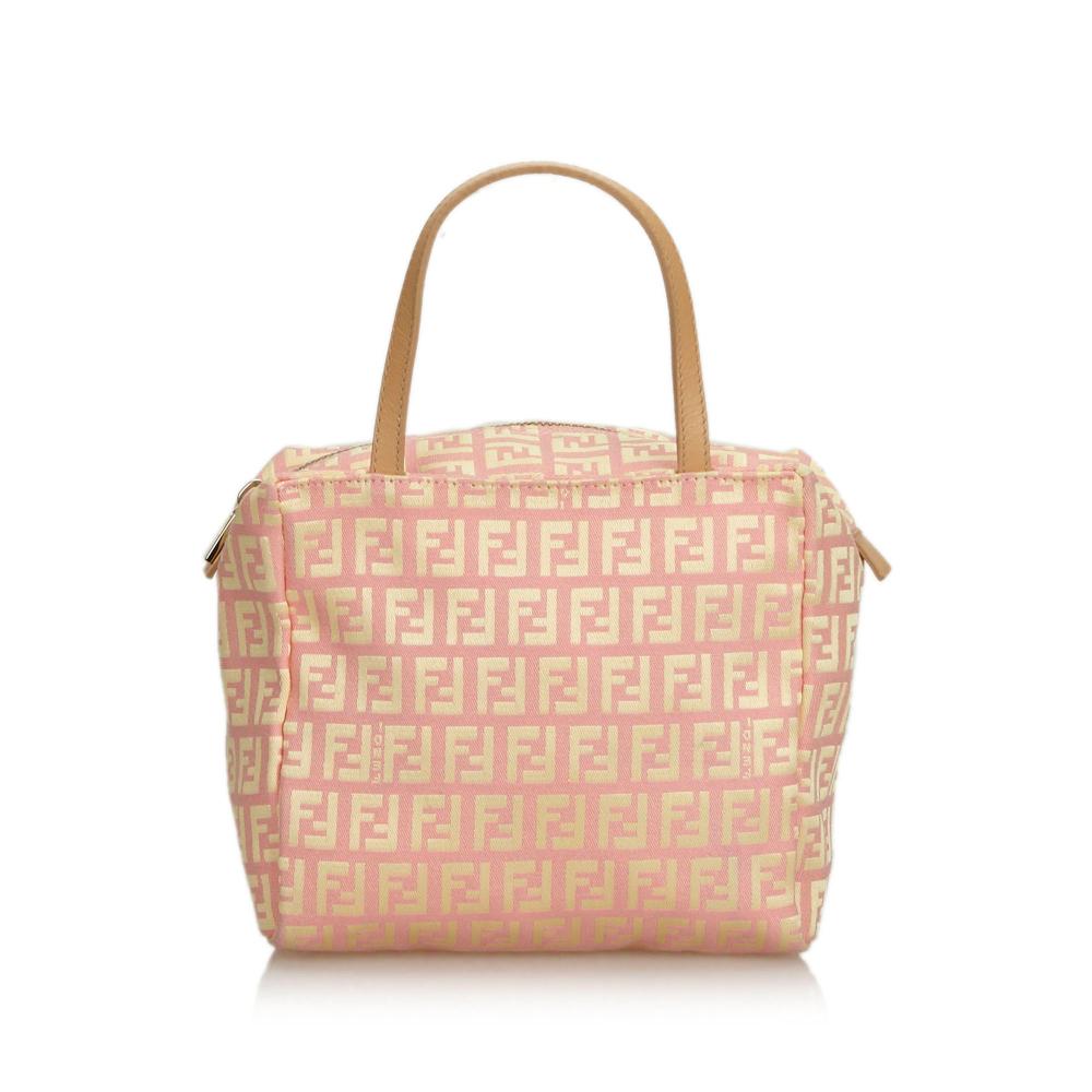 e799dff5c4f Fendi - Zucchino Canvas Handbag : MyPrivateDressing. Buy and sell ...
