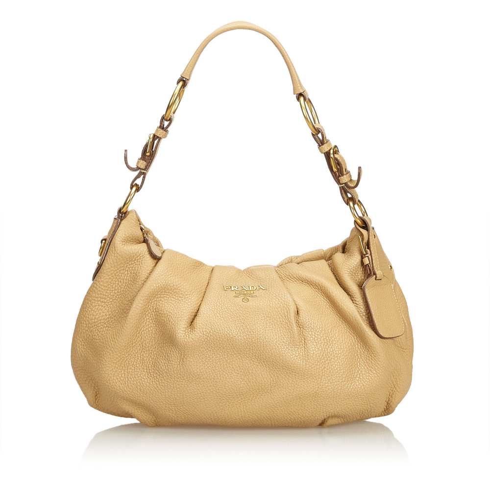 14b7a56cfddaf2 Prada - Leather Shoulder Bag : MyPrivateDressing. Buy and sell ...