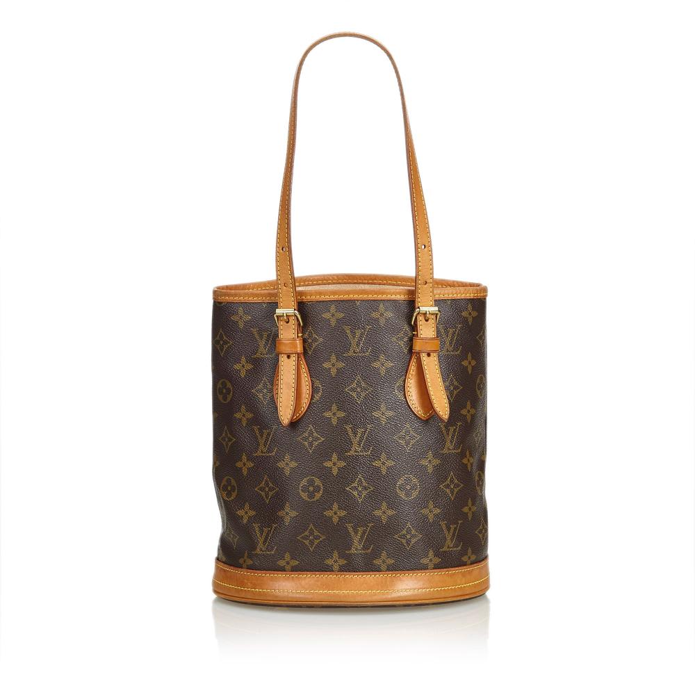 71e18725791d Louis Vuitton - Monogram Petit Bucket   MyPrivateDressing. Buy and ...