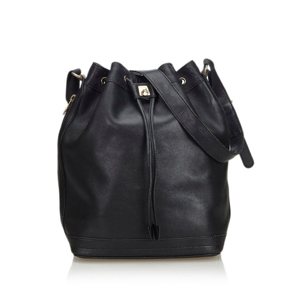 Céline - Leather Bucket Bag   MyPrivateDressing. Buy and sell ... c21b5ae1548f7