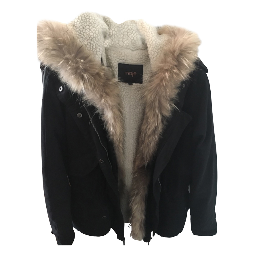 magasin en ligne 6284a 8293d Maje - Parka : MyPrivateDressing. Buy and sell vintage and second hand  designer fashion and watches. Free listing. Authenticity – Trade Protection  – ...