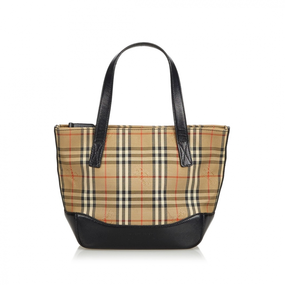 2fb67fa32483 Burberry - Plaid Canvas Handbag   MyPrivateDressing. Buy and sell ...