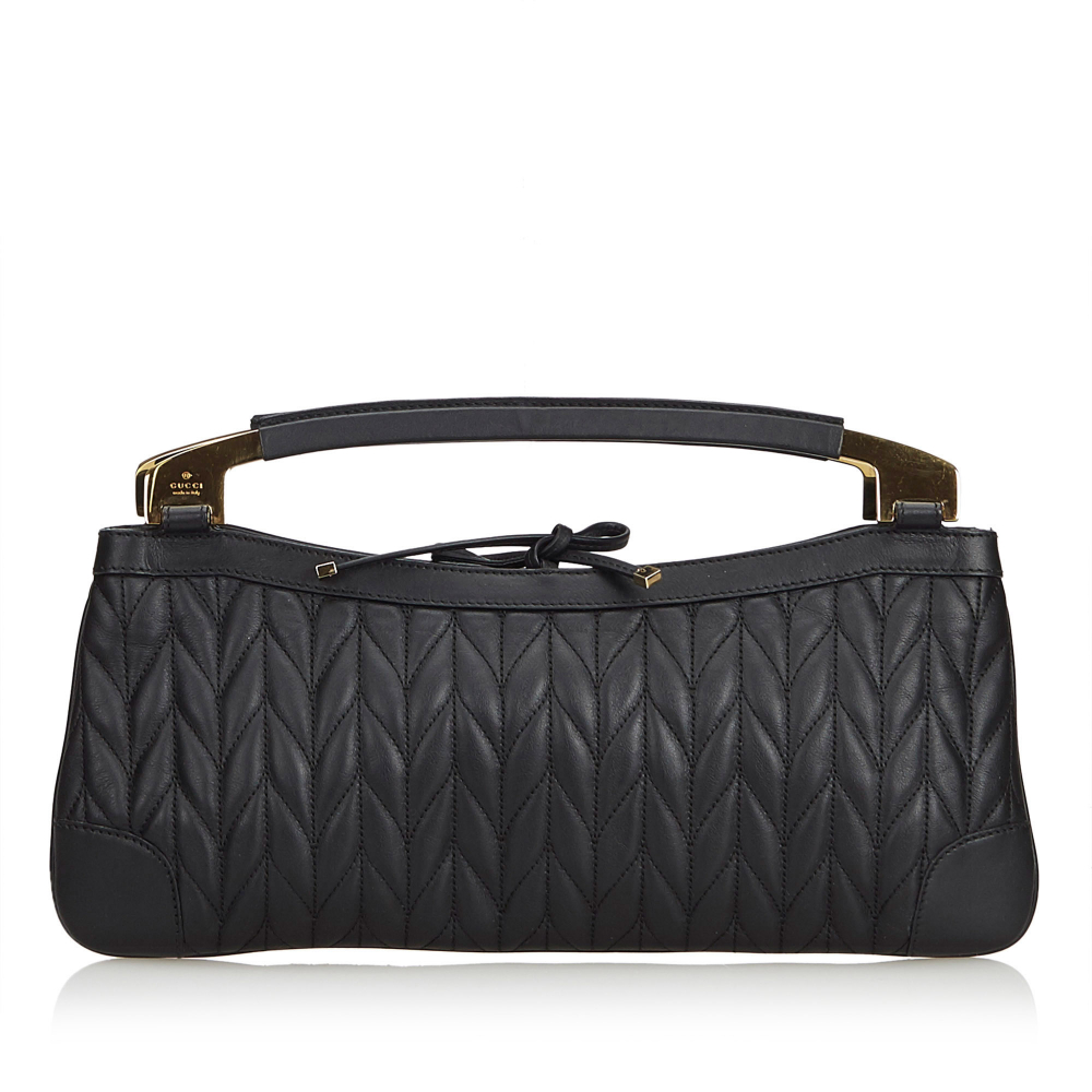 2d544d7b528 Gucci - Quilted Leather Handbag   MyPrivateDressing. Buy and sell ...
