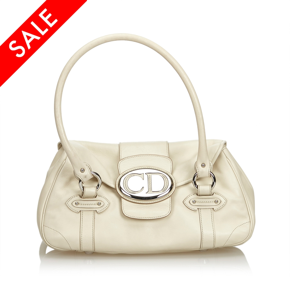 d9f00589daf Christian Dior - Leather Handbag : MyPrivateDressing. Buy and sell ...