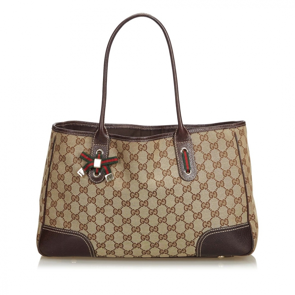 56cbfd163f4 Gucci - GG Jacquard Princy Tote Bag   MyPrivateDressing. Buy and ...