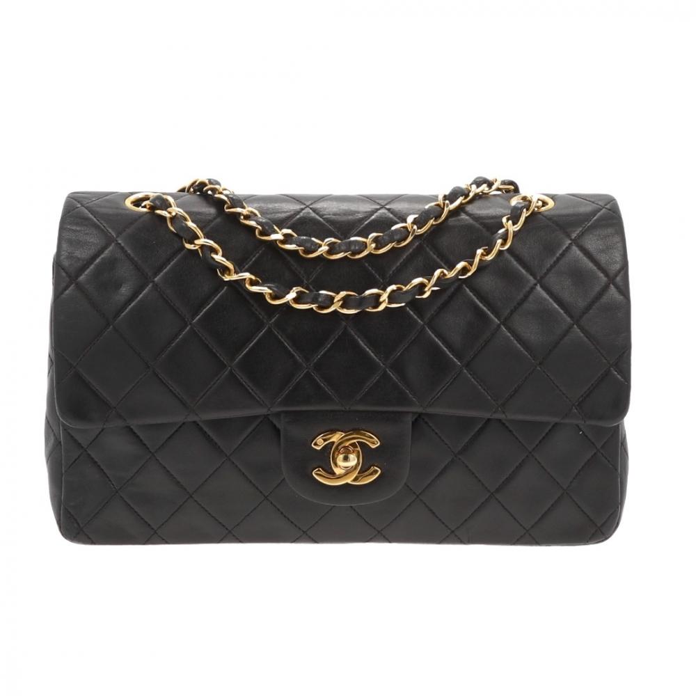 e9d14d4aaa2ee6 Chanel - Timeless Double Flap Bag Medium Black : MyPrivateDressing ...