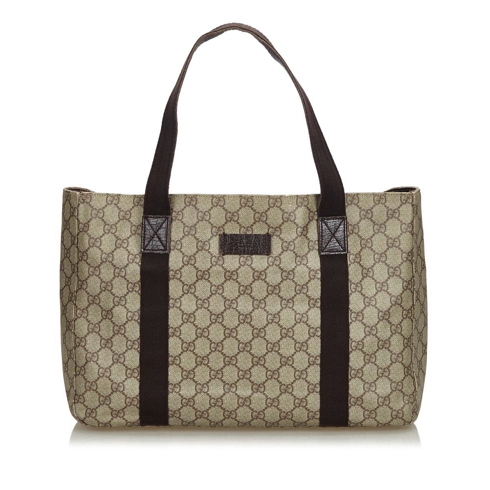 3a9460037942e6 Gucci - GG Tote Bag : MyPrivateDressing. Buy and sell vintage and ...