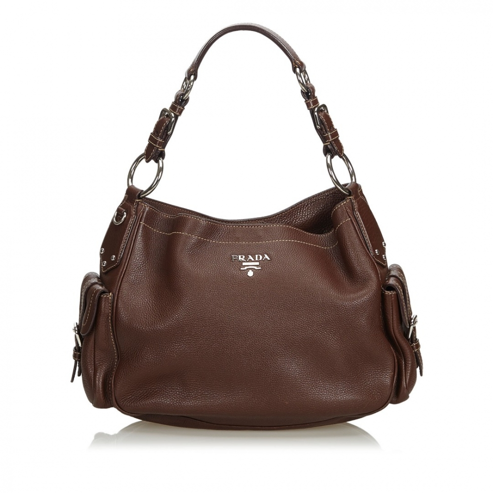 b1711456dee1 Prada - Vitello Daino Leather Shoulder Bag : MyPrivateDressing. Buy ...