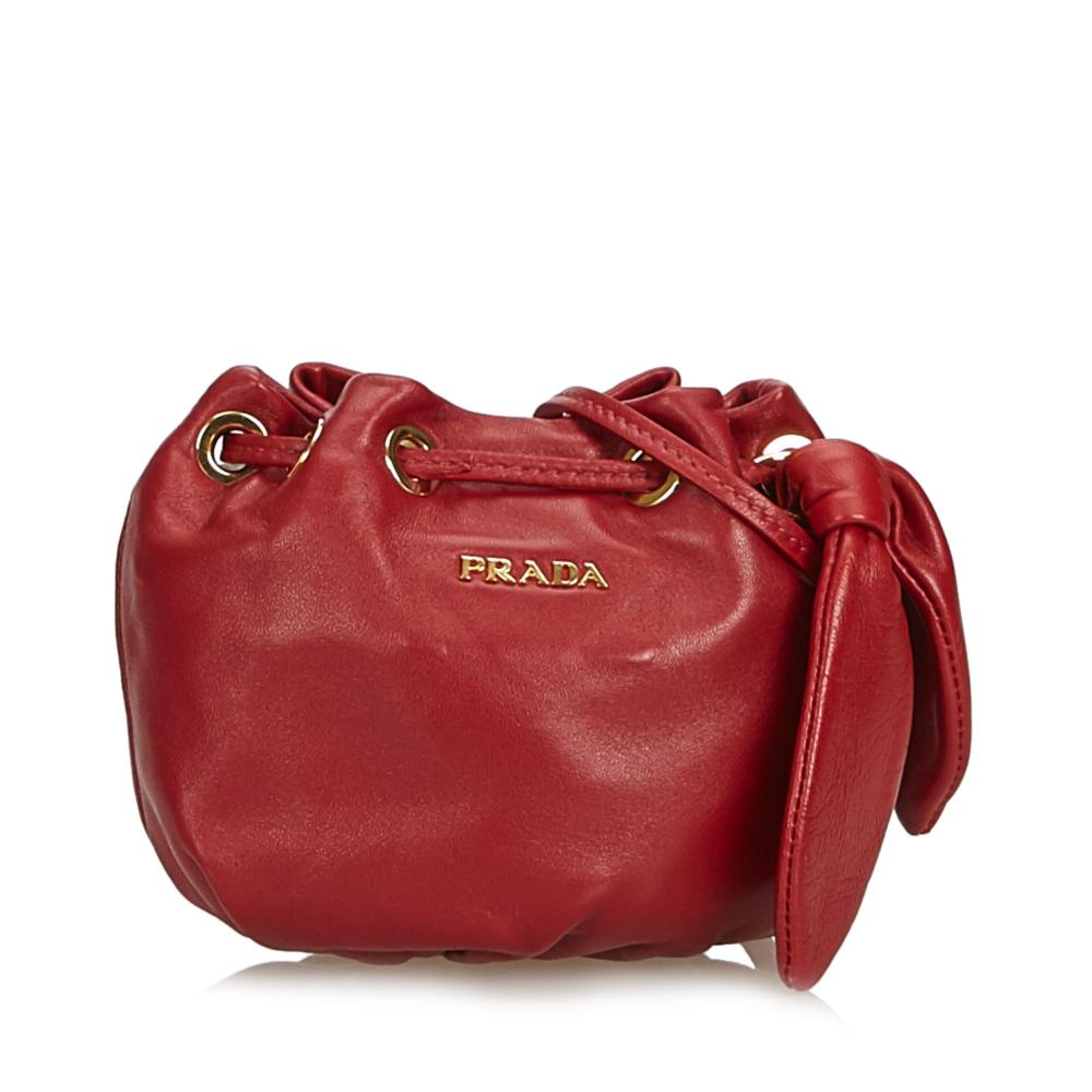 fb0b0d05d75b Prada - Leather Crossbody Bag : MyPrivateDressing. Buy and sell ...