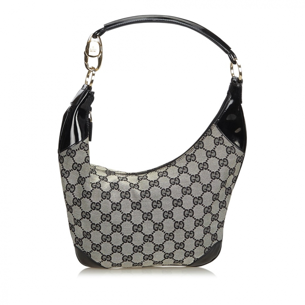 10807213 Gucci - GG Jacquard Hobo Bag : MyPrivateDressing. Buy and sell ...