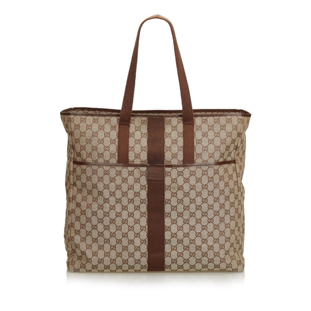 0f822f4a Gucci - GG Jacquard Travel Bag : MyPrivateDressing. Buy and sell ...