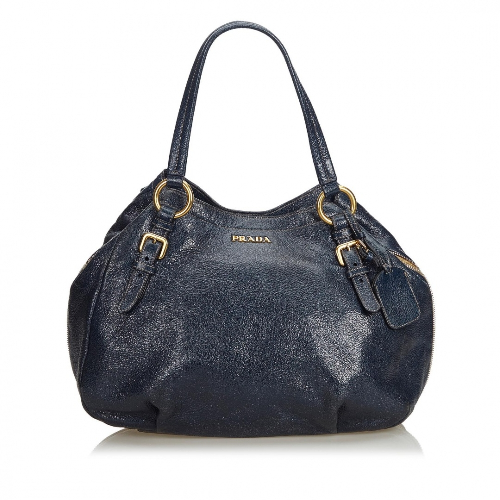 2f718bf3cfed3 Prada - Metallic Leather Cervo Hobo Bag   MyPrivateDressing Schweiz ...