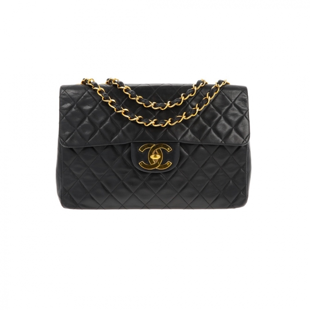 600ab699647e Chanel - Maxi Jumbo Timeless XL Bag black quilted lambskin ...