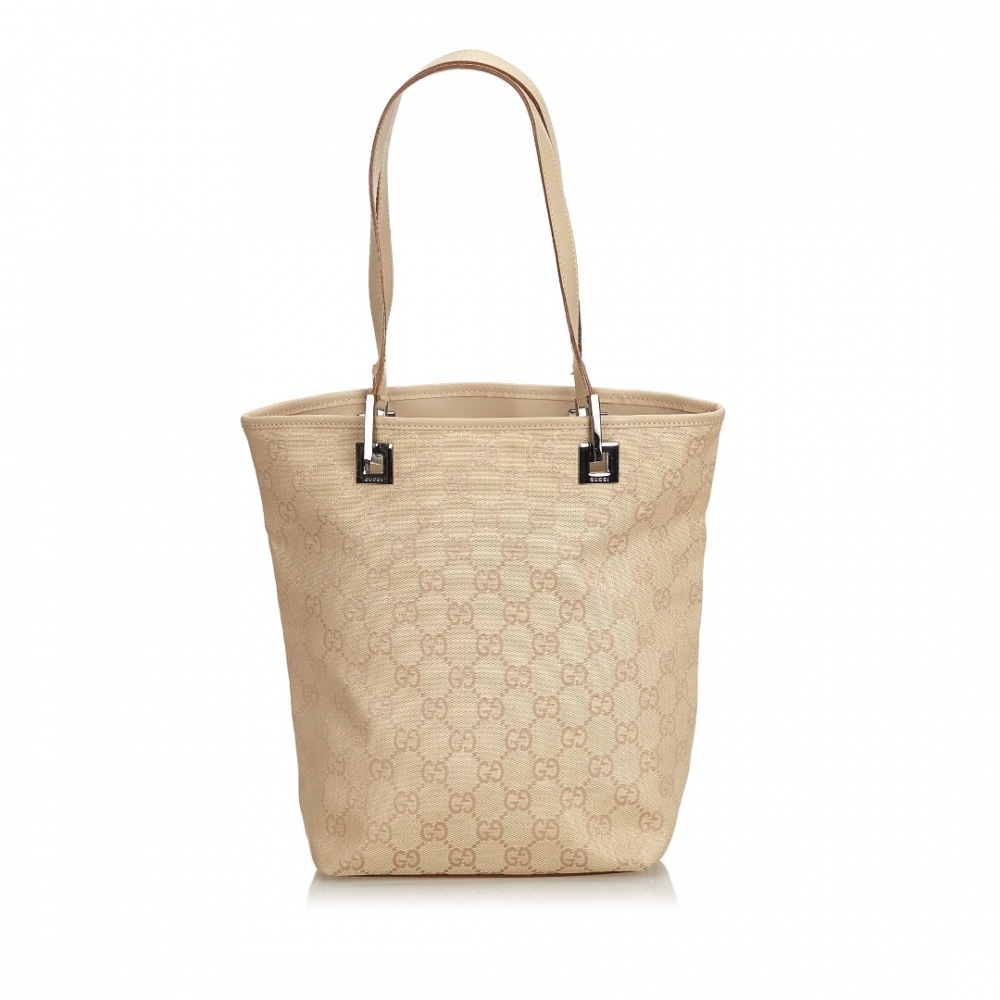 1dd4dc0f2832 Gucci - GG Canvas Tote Bag : MyPrivateDressing. Buy and sell vintage ...