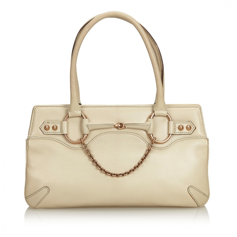 5098852a740afd Gucci - Horsebit Leather Handbag : MyPrivateDressing. Buy and sell ...