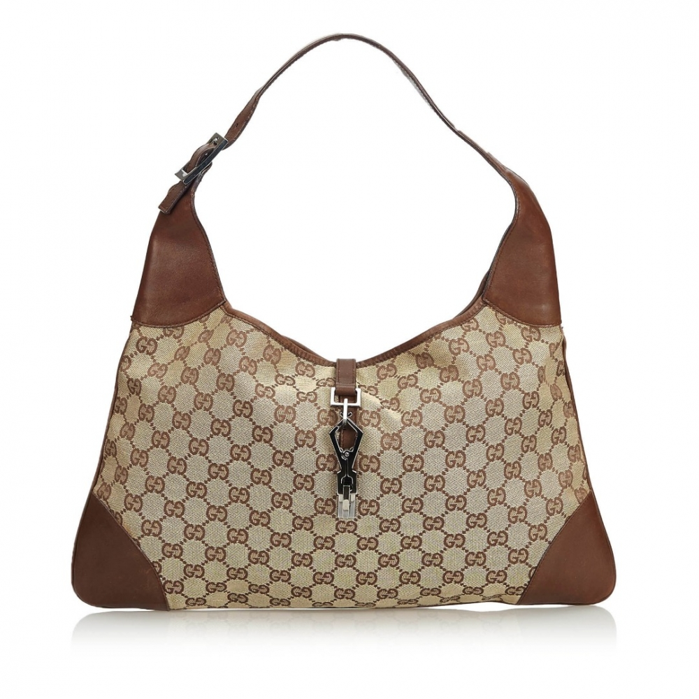 ec2d5e489069 Gucci - GG Canvas Jackie Shoulder Bag : MyPrivateDressing. Buy and ...