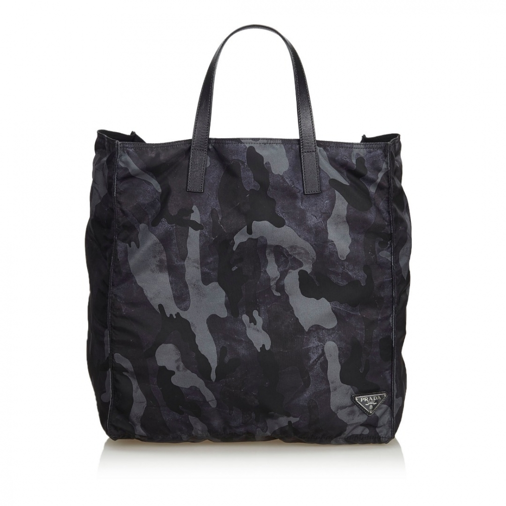 f55d59562759 Prada - Nylon Camouflage Tote Bag : MyPrivateDressing. Buy and sell ...