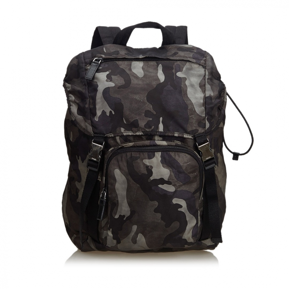 8d84c5cc5a73 Prada - Nylon Camouflage Backpack : MyPrivateDressing. Buy and sell ...