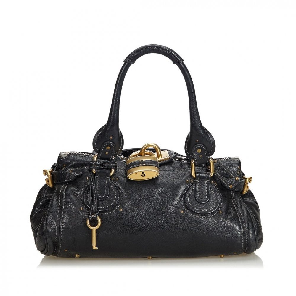 94017216271 Chloé - Leather Paddington Handbag : MyPrivateDressing. Buy and sell ...