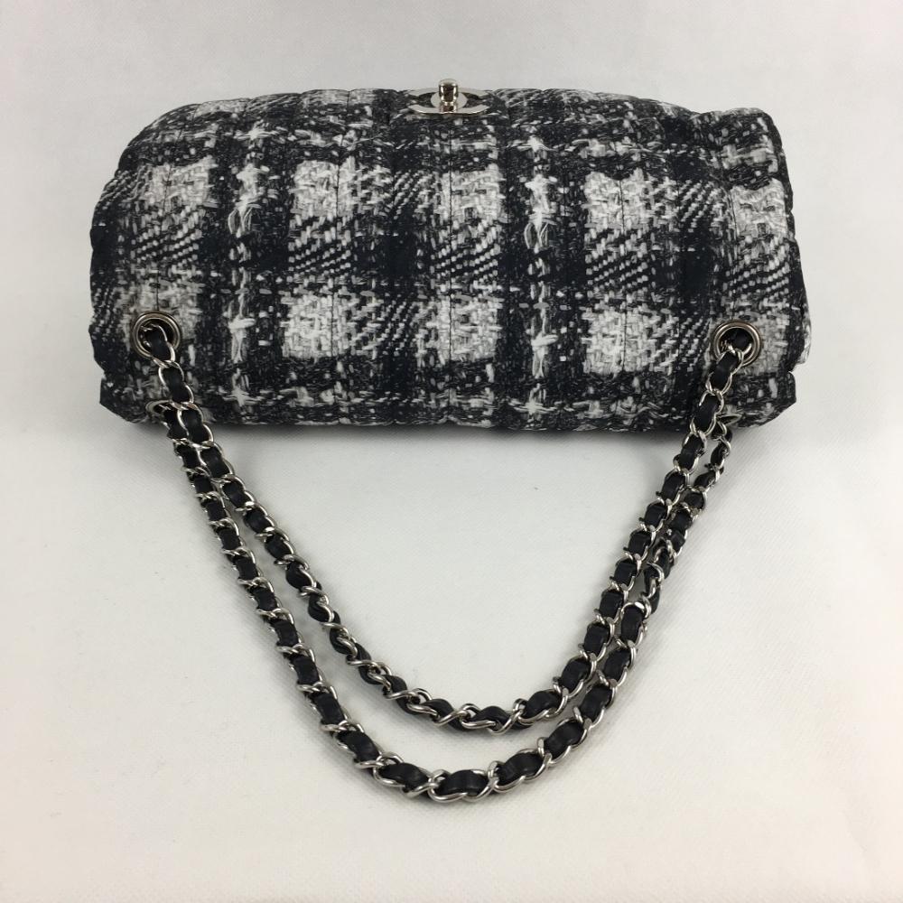 chanel handtasche jumbo tweed myprivatedressing schweiz kaufen und verkaufen sie ihre. Black Bedroom Furniture Sets. Home Design Ideas