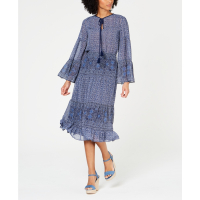 Michael Kors Women's 'Printed Tiered' Dress