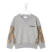 Burberry Girl's 'Check print' Sweater