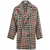Red Valentino Manteau 'Houndstooth' pour Femmes