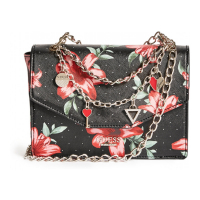 Guess 'Isola Layered Chain' Crossbody Bag