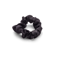 Zoë Ayla 'Silky Sleep Scrunchies' Set - Black 5 Units