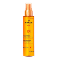 Nuxe Sun Tanning Oil for Face and Body SPF10 - 150ml