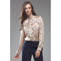 Nife Women's 'Long Sleeve & Round Neckline' Blouse