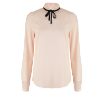 Nife Women's 'Lon Sleeve & Standing Collar' Blouse