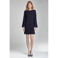Nife Women's 'Boat Neckline' Dress