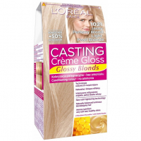 L'Oréal Paris Teinture pour cheveux 'Casting Creme Gloss Glossy Blondes' - 1021 Light Pearl Blond