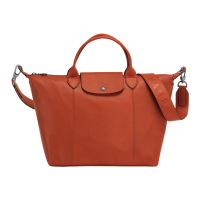 Longchamp Women's 'Le Pliage Cuir M' Tote Bag