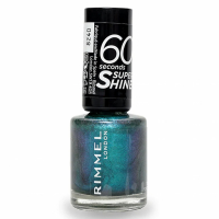 Rimmel London '60 Seconds Super Shine' Nail Polish - #721 Siren 8 ml
