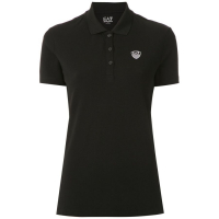 EA7 Emporio Armani Women's 'Logo embroidery' Polo Shirt